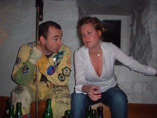 Johan, Sofi och Dekolletage
