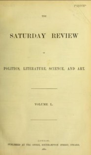 Saturday Review copy