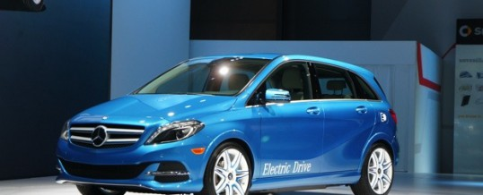 New Electric B-Class Mercedes powered by Tesla Technology