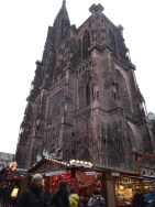 Strasbourg cathefral, apparently the tallest christian church in Europe.