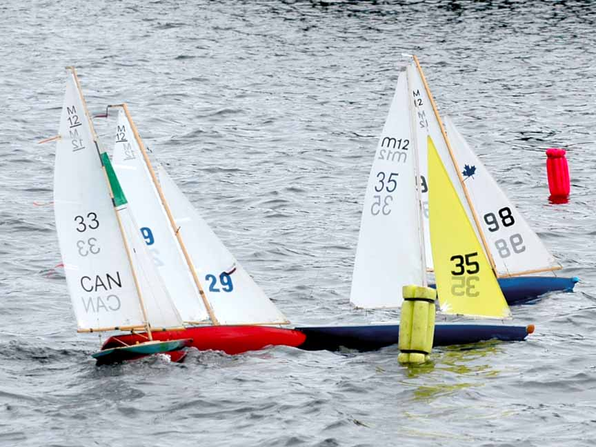 Quinte Model Yacht Club Model RC Sailboat Racing