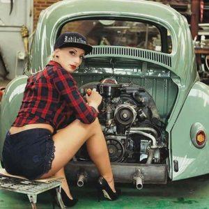Pin Up Girl Wallpaper Girls Mechanics Ser 193 Que Elas Entendem De Mec 194 Nica Qnave