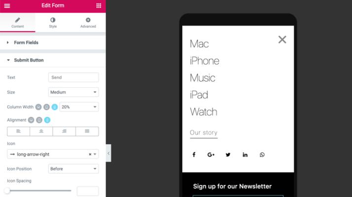 Hướng dẫn tạo menu mobile Elementor chi tiết nhất