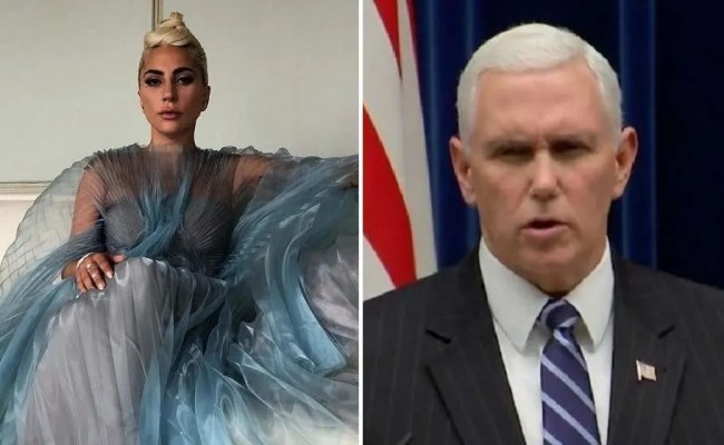 Lady Gaga Blasts Mike Pence As Worst Representation Of
