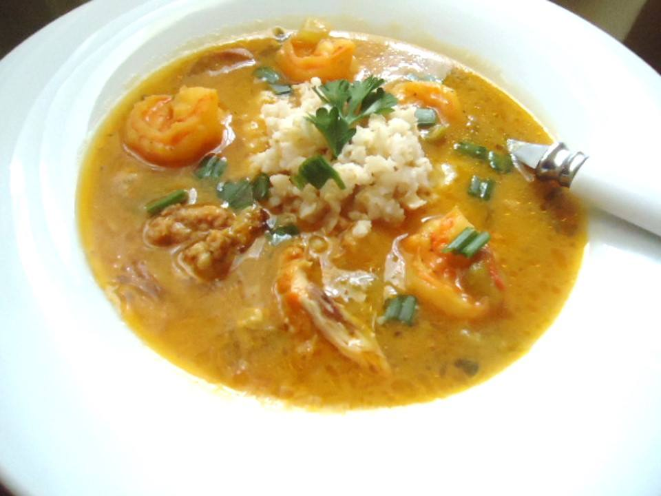 Creole Chicken and Catfish Gumbo