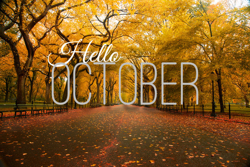 Hello, October   On the Menu @ Tangie's Kitchen