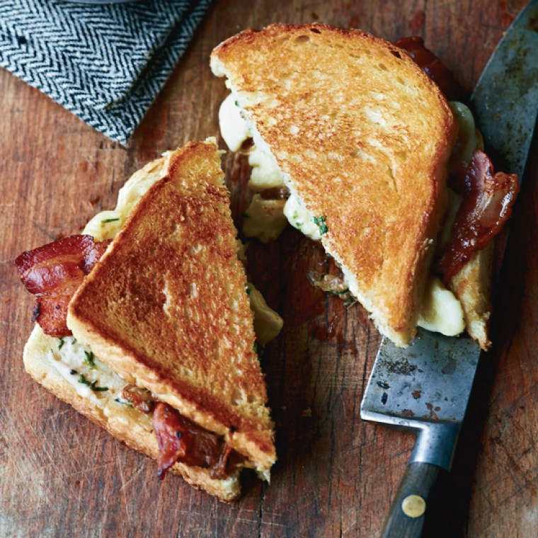 Cheese Curd Grilled Cheese. JoeBeef_FW_Oct2011