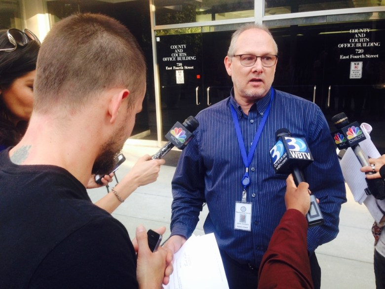 Mecklenburg County Register of Deeds J. David Granberry explains the marriage ruling and says his office will reopen Monday morning to accept legal marriage applications from same-sex couples.