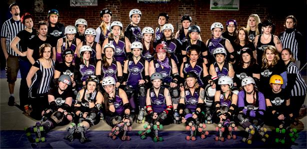 Charlotte Roller Girls Photo Credit: James Dockery