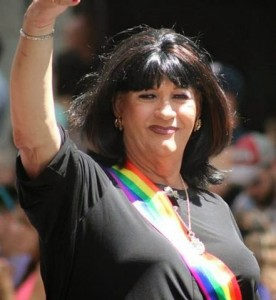 Janice Covington Allison is an outspoken trans advocate and is engaged in the political process. Photo Credit: Personal archives