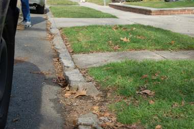 Image result for picture broken sidewalk and curb