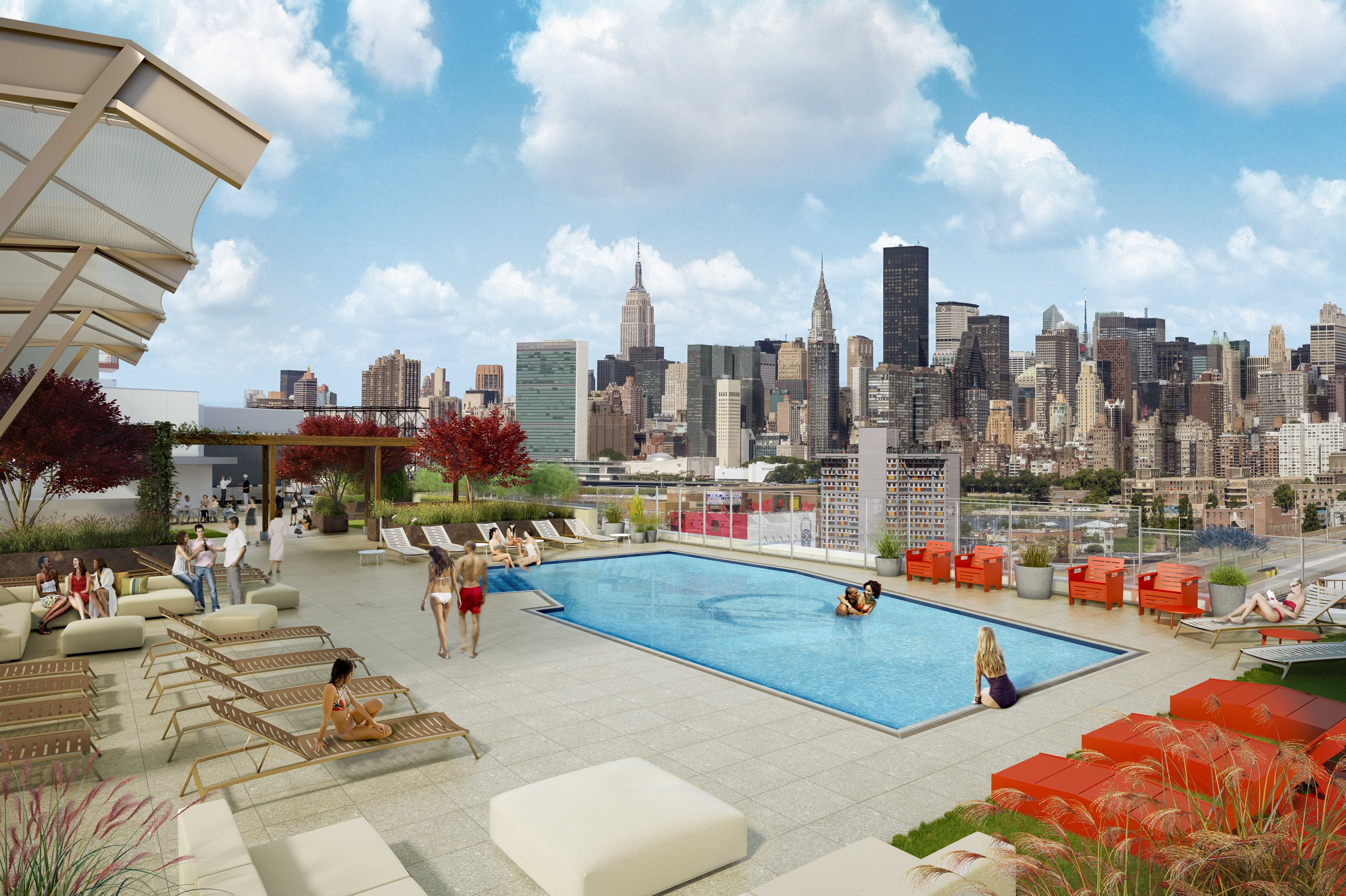 Apartments now available in new LIC luxury tower with rooftop pool  QNScom