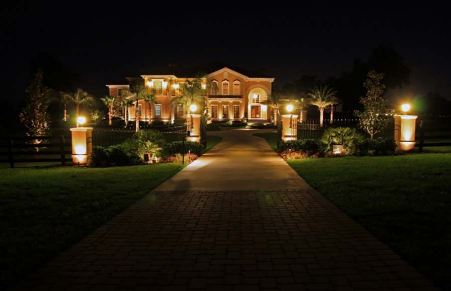 Landscape Lighting Pictures Gallery  QNUD
