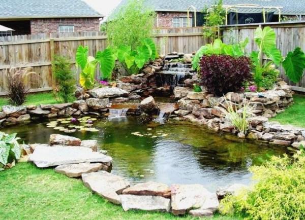 7 breathtaking koi fish ponds