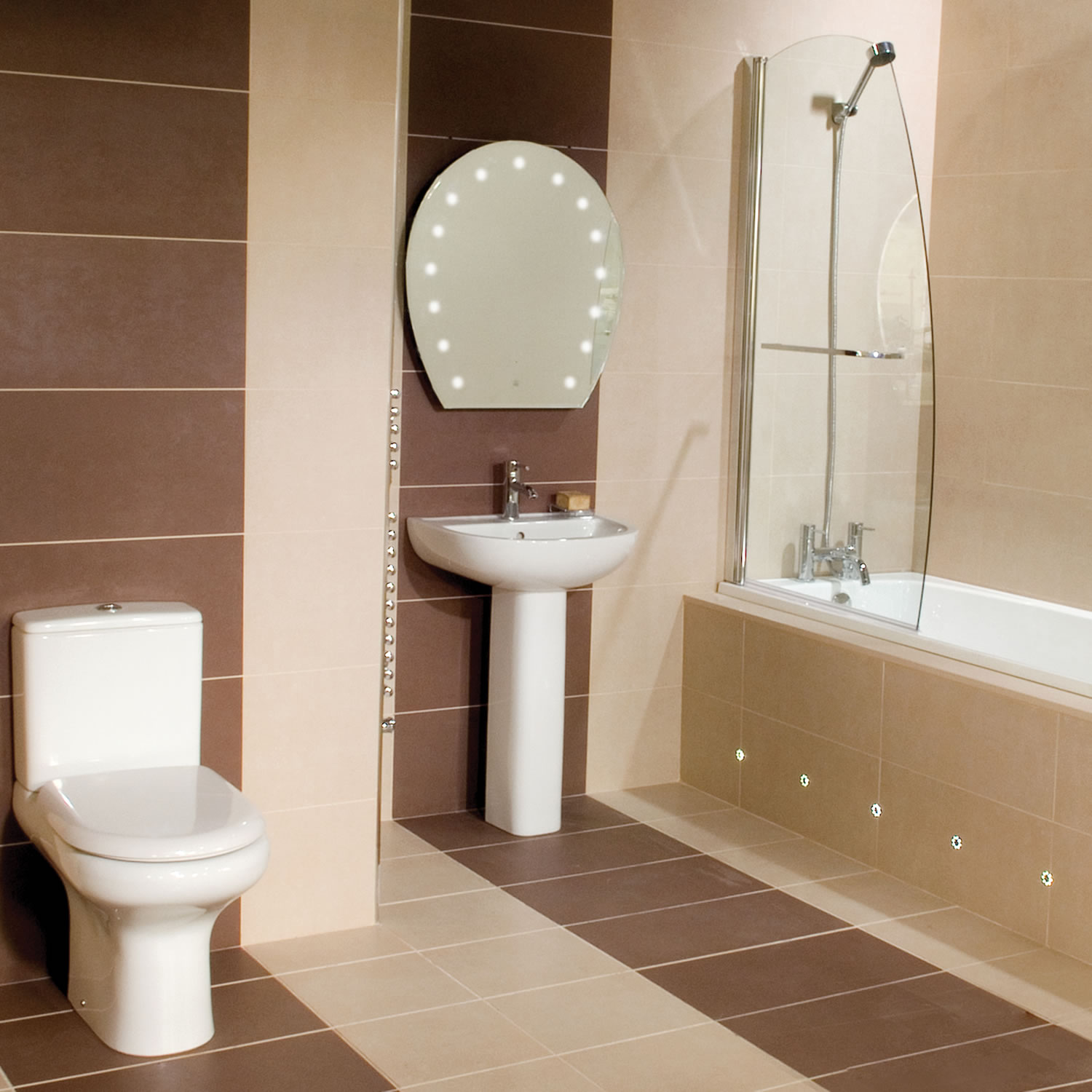 Compact Toilet and Sink 5858