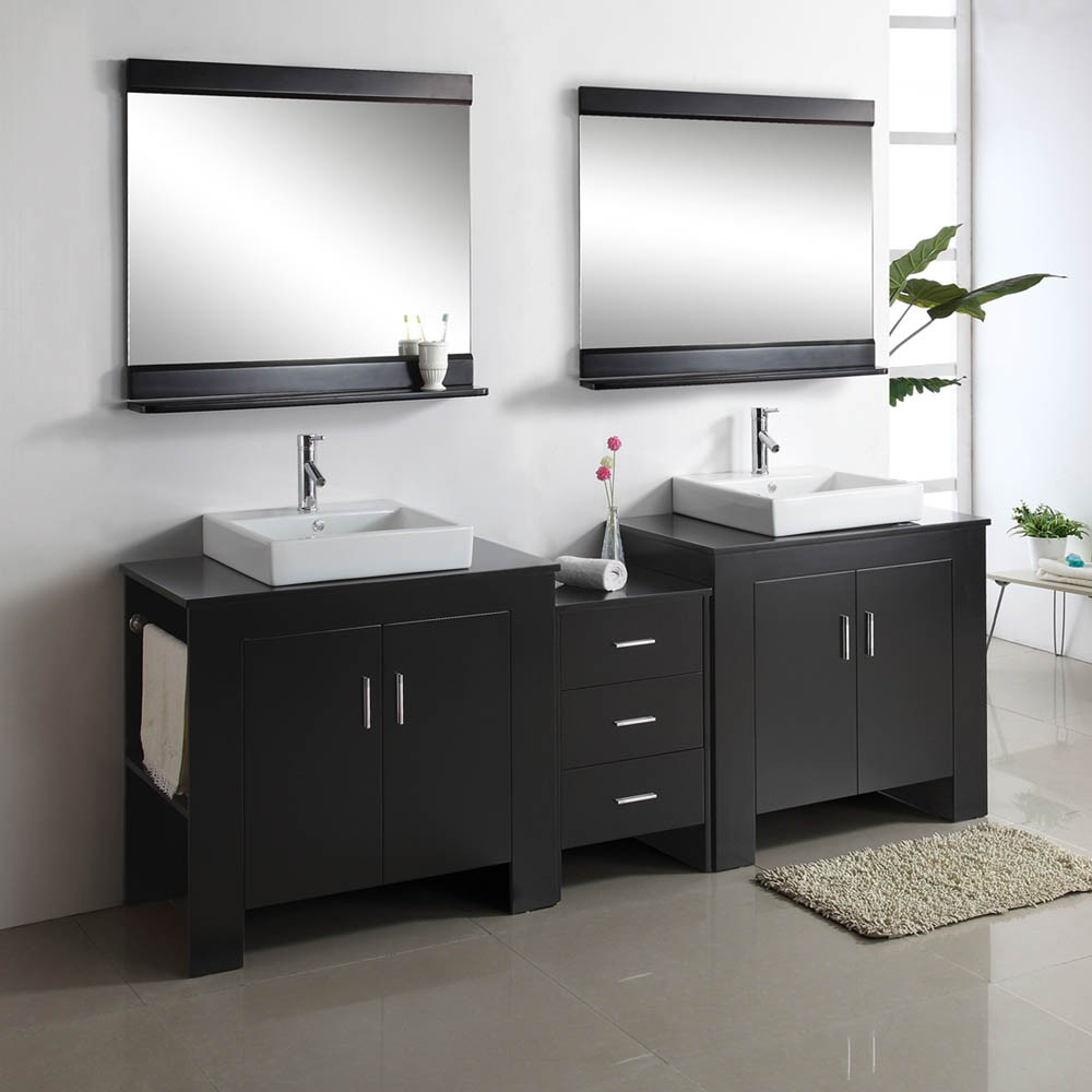 15 Must See Double Sink Bathroom Vanities in 2014  Qnud
