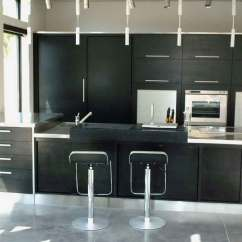 Black Metal Kitchen Cabinets Booths For Sale Stainless Steel Qnud