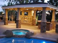Covered Patio Lighting Idea (6730)