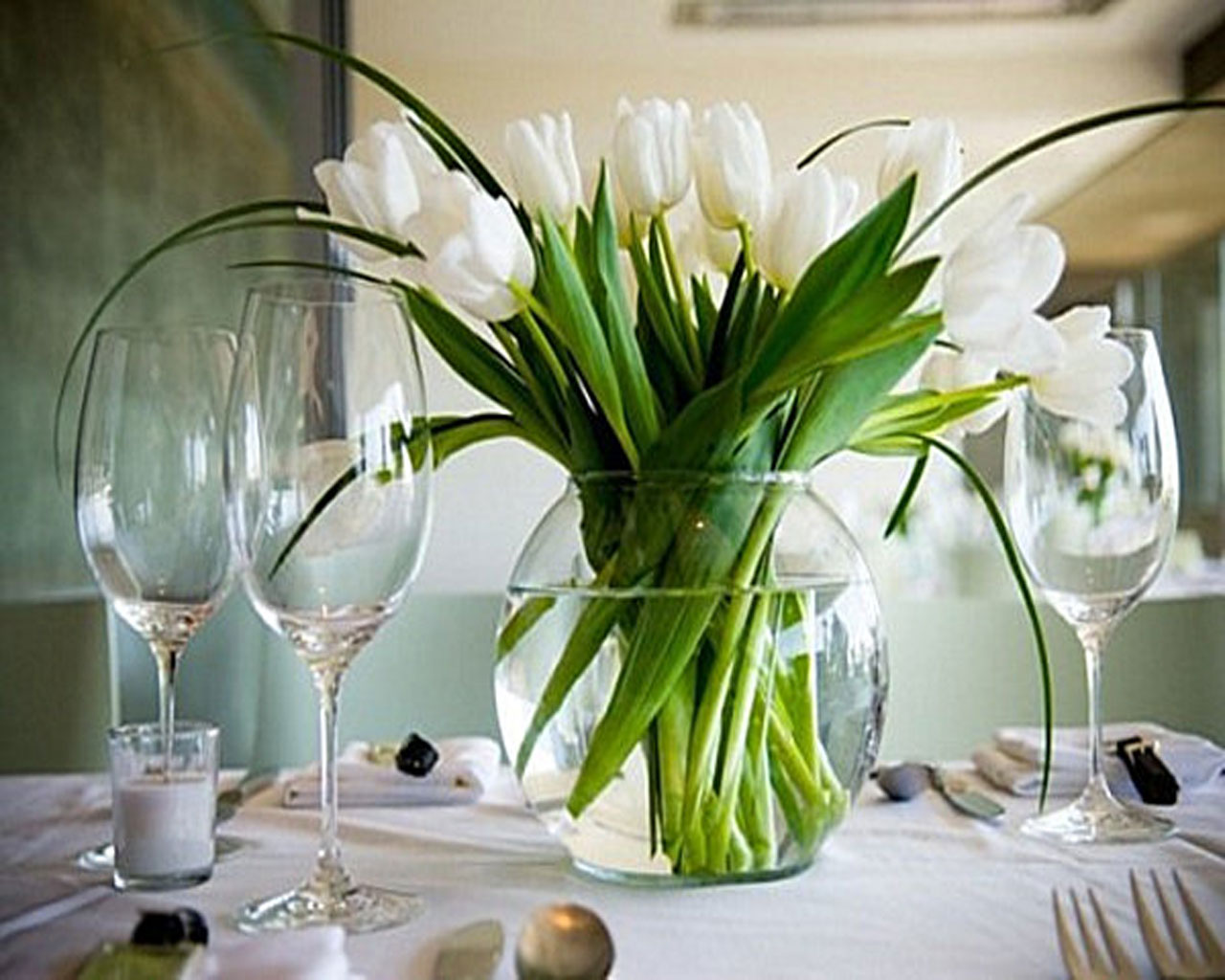 Flower Table Decorations