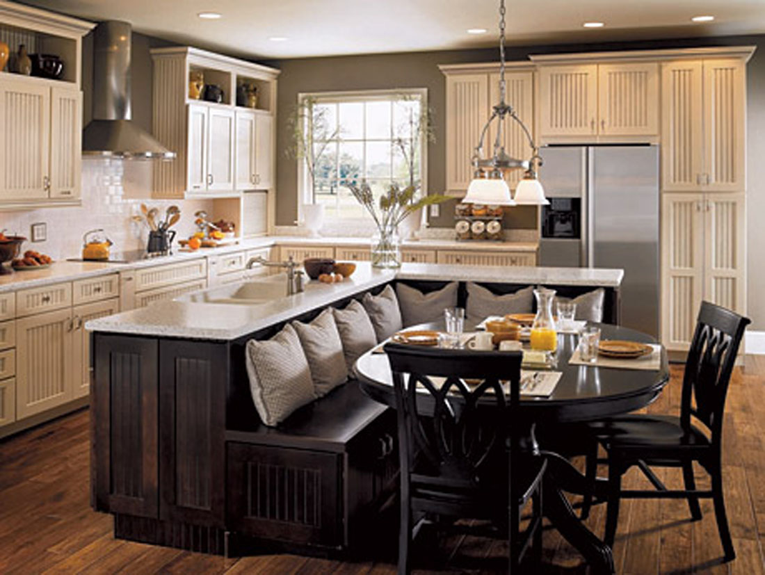 island in the kitchen wall mounted cabinets top 25 ideas to spruce up decor 2014 qnud