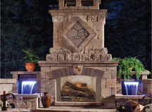 Top 21 Designs for the Outdoor Fireplace - Qnud