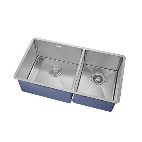 ebay kitchen sinks how to build your own island kraus 克劳思ckhu103 30 不锈钢拉丝双盆水槽780 430 230mm 1599元包邮