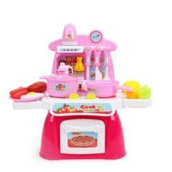 toy kitchen sets ideas for small 知识花园儿童过家家玩具厨房套装22件28元包邮 需用券 京东优惠 什么值得买 知识花园儿童过家家玩具厨房套装22件