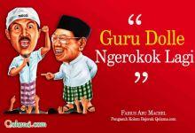 Photo of Guru Dolle Merokok Lagi