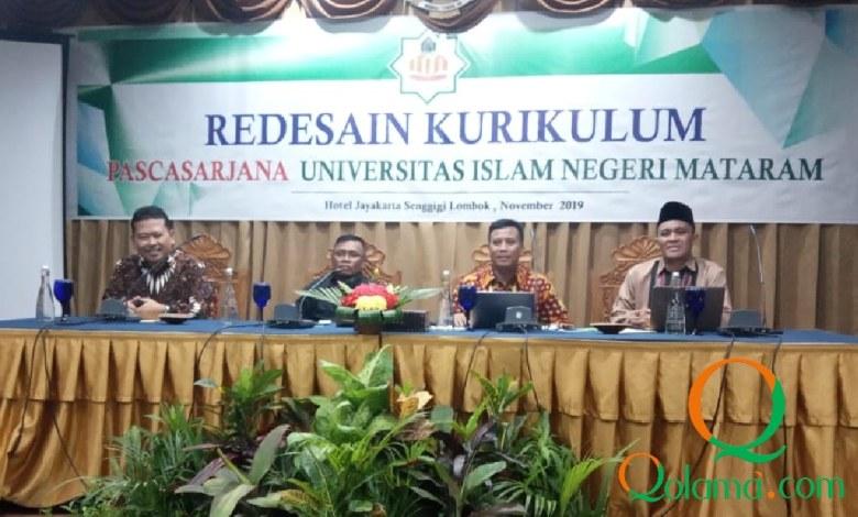 Photo of Menjadi Kelas Internasional, Pascasarjana UIN Mataram Lakukan Redesain Kurikulum