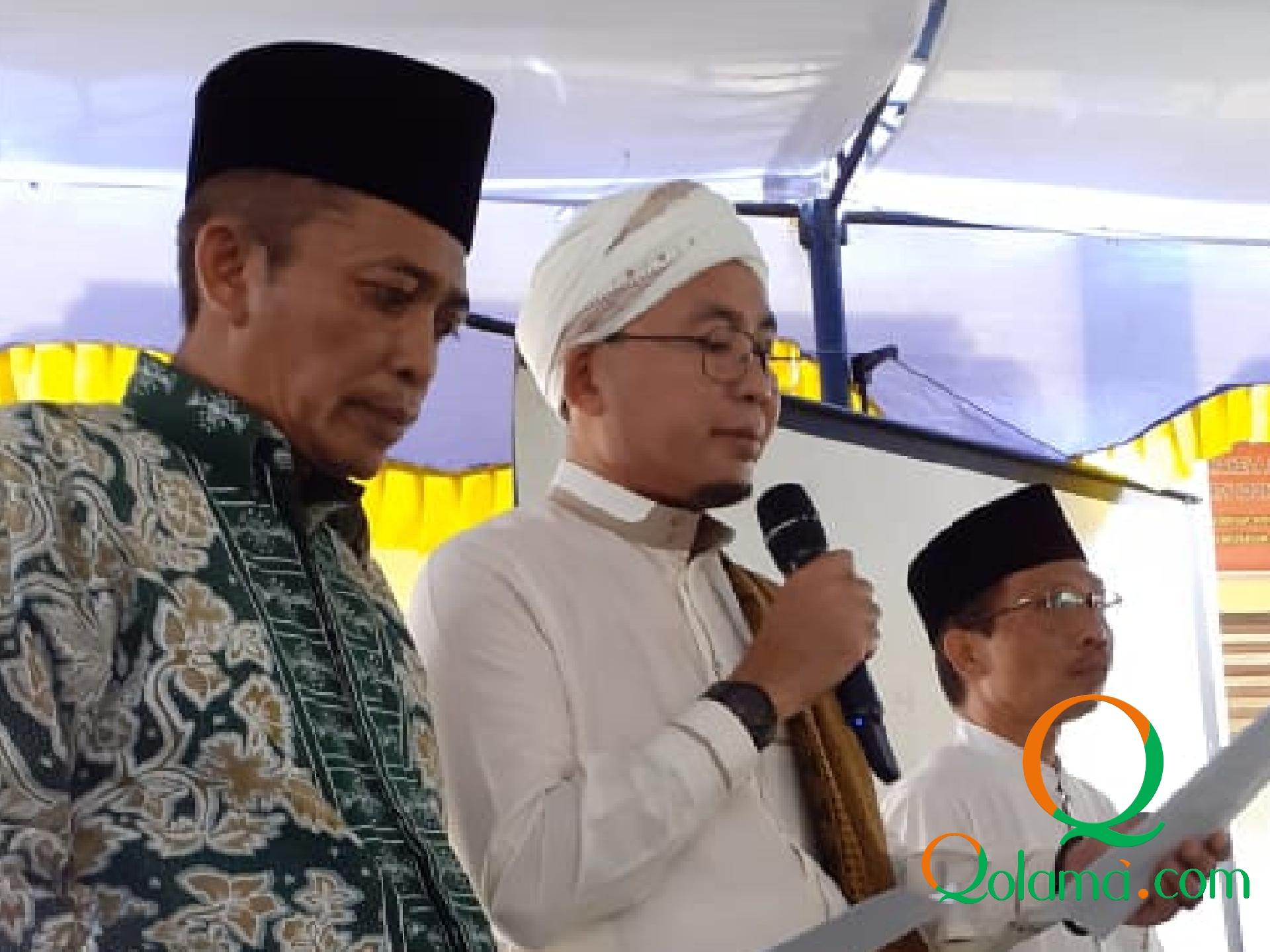 Photo of PRNU Se-Kecamatan Janapria dilantik,  Pathul Bahri Titip Pesan, Ber NU Jangan Berat-Berat