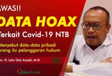 Photo of Terkait Data Covid-19, Sekda; Jangan Percaya Informasi Liar