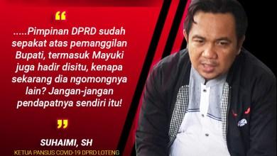 Photo of Pansus Covid-19 Akan Galang Mosi Tidak Percaya Pimpinan DPRD Loteng