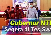 Photo of Dikes NTB segera Rapid-Swab Gubernur dan Sejumlah Tokoh Paska Kunjungan Menag