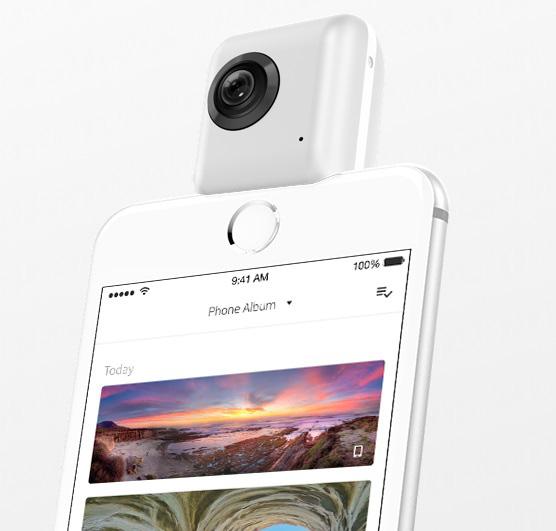 Insta 360 Nano 全景相機 結合 iPhone 影盡 360 度!   Qooah