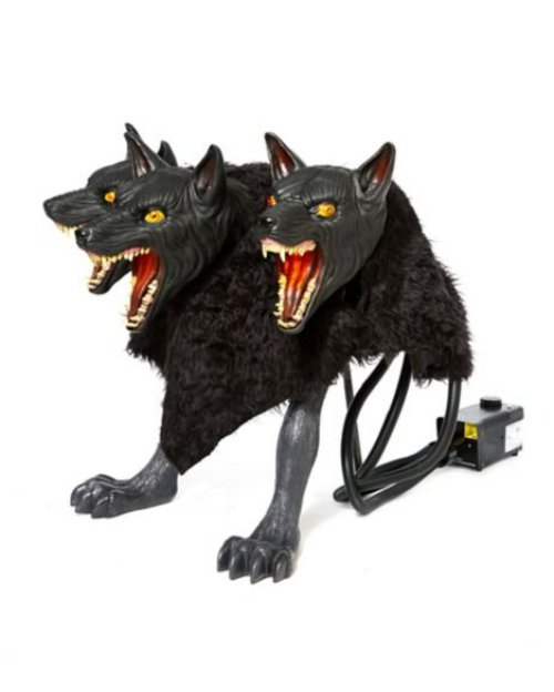 「地獄三頭犬」加濕器,驚嚇十足