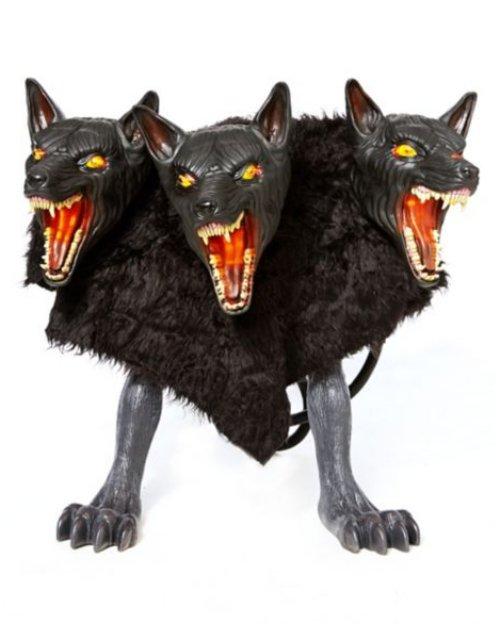 「地獄三頭犬」加濕器,驚嚇十足   Qooah