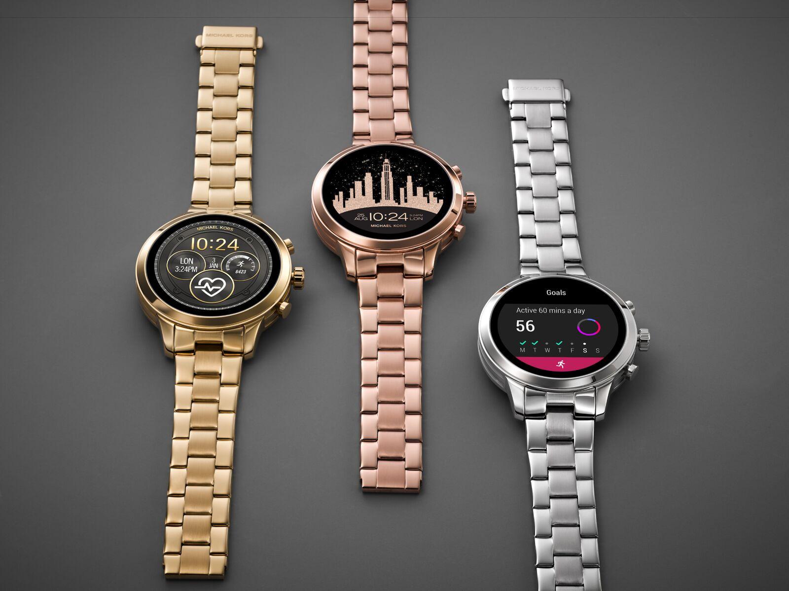 Michael Kors Access 推出智能觸屏腕錶 Runway 系列新色彩   Qooah