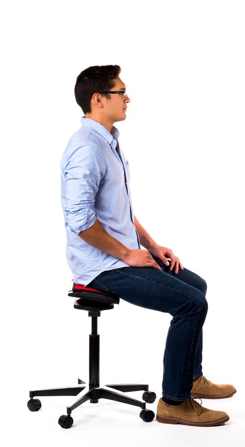 better posture chair fishing decathlon the newton qor360 darwin active by