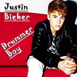 Justin Bieber Drummer Boy