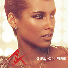 Alicia Keys Girl on Fire + Inferno Version (ft. Nicki Minaj)