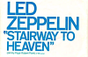 Led Zeppelin Stairway to Heaven