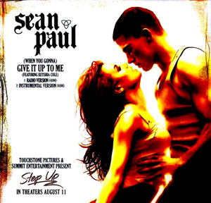 Sean Paul Give It Up to Me (ft. Keyshia Cole)
