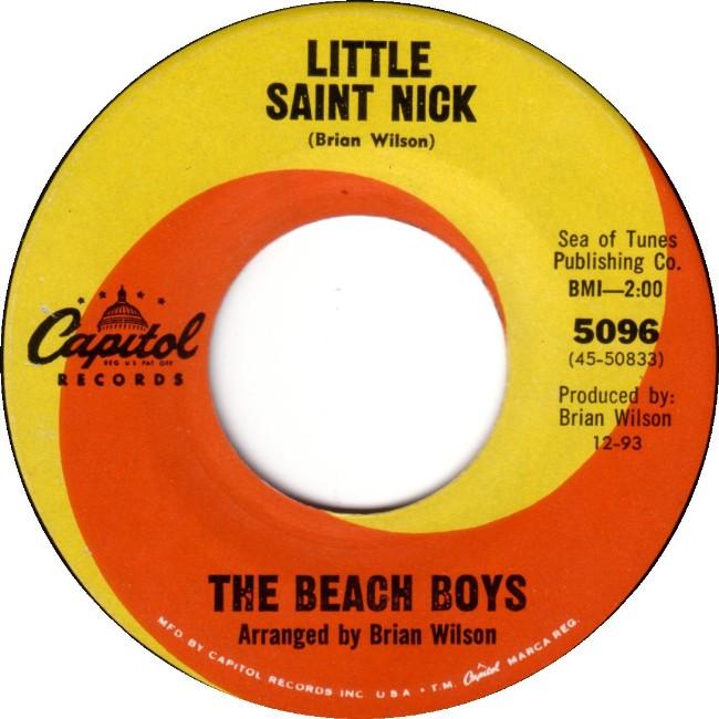 The Beach Boys Little Saint Nick
