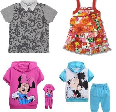 Memilih Baju Anak Perempuan
