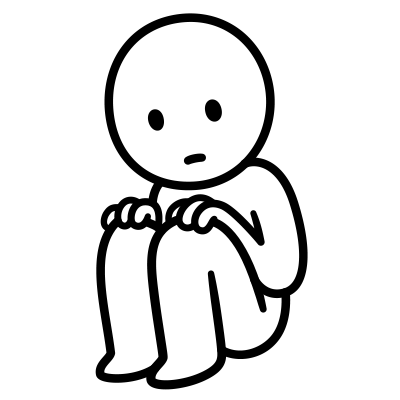 sad animations for stickers