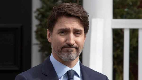 primer ministro de Canadá Justin Trudeau