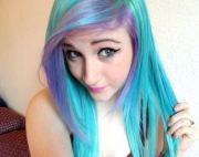 people dye hair colors