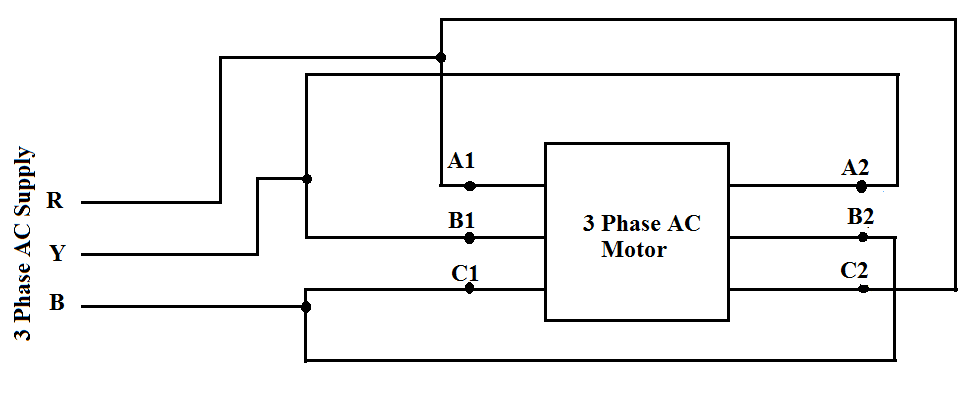 Ac Induction Motor Wiring Diagram