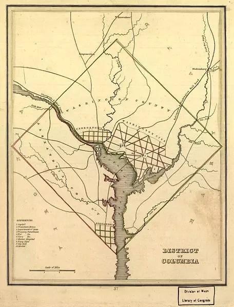 100 Square Miles : square, miles, Washington,, Sq-mi, Constitution, Dictates, Capital, Cannot, Exceed, (Article, 8.17)?, Quora