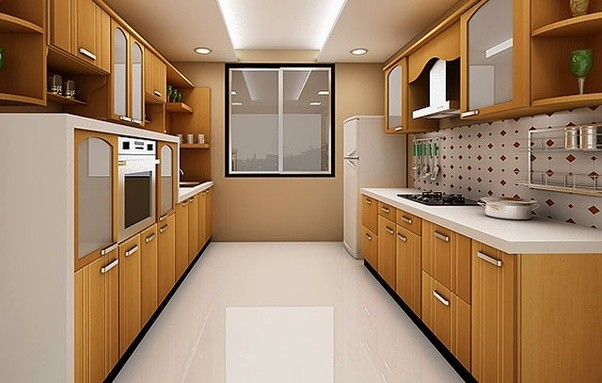 L Shaped Kitchen Interior Design India